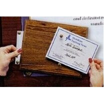"Do-it-yourself Plaque (8-1/2""x11"" Certificate)"