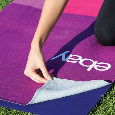 Sublimated Yoga Mat Towel